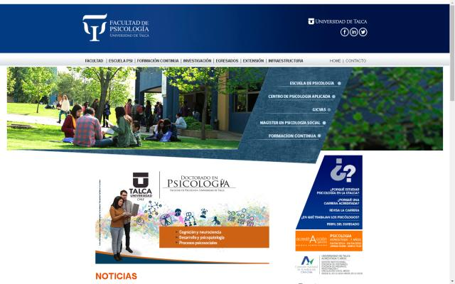 Webs de la Universidad